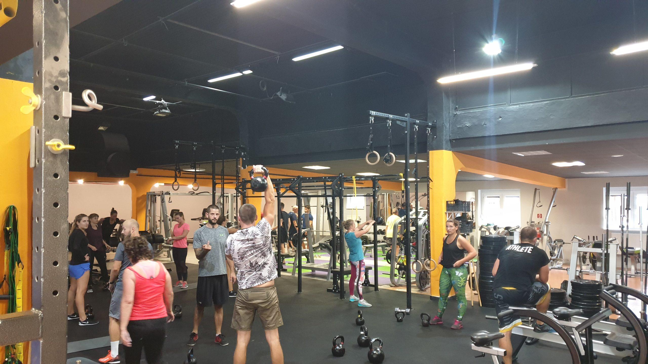 Skupinovka Funkčný tréning 26.8.19 – tréner Ivan Sivák ml.